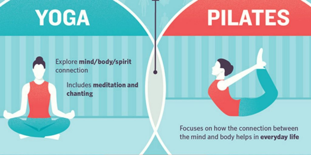Differences between yoga and pilates