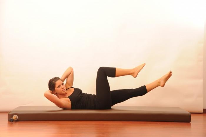 Pilates at home without equipment and pilates tools